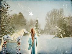 follow the star alice popkorn winter solstice magic horse spirals ...