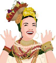 Carmen Miranda by thaaa