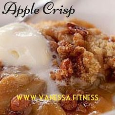 Healthy, delicious, clean eating Apple Crisp! 21 Day Fix approved!!