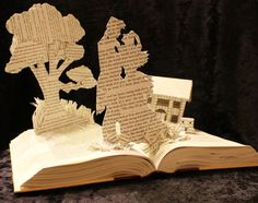 Gone With The Wind Book Sculpture. $125.00, via Etsy. #reading