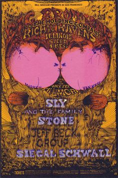Big Brother & the Holding Co. / Richie Havens/ Sly and the Family Stone/ Jeff Beck
