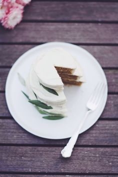 Maialino's Olive Oil Cake with Cream Cheese Frosting
