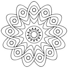 Mandala Coloring Pages Printable. Collection of Mandala coloring pages. You can find mandala images to color, from easy to hard. Adult Coloring Pages, Star Coloring Pages, Pattern Coloring Pages, Free Coloring Sheets, Mandala Coloring Pages, Printable Coloring Pages, Coloring Books, Colouring, Kids Coloring