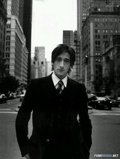 Adrien Brody No.1|~My crush is~ Adrien Brody Movies, Creepy Guy, Actors Male, Mad Men Fashion, Draw On Photos, Thing 1, Most Beautiful Man, Attractive Men, Pretty People