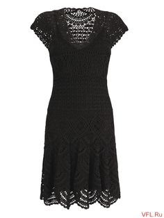 Another little black dress with chart  LiveInternet - Russian Service Online Diaries