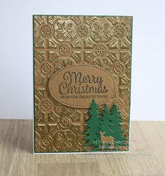 All Things Pretty Craftee: Tin Tile Christmas – Christmas Ideas Christmas Cards 2018, Homemade Christmas Cards, Xmas Cards, Homemade Cards, Holiday Cards, Christmas Ideas, Chrismas Cards, Thanksgiving Cards, Christmas 2019