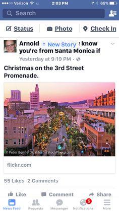 3rd st. Promenade Santa Monica
