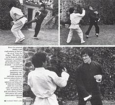 Bruce Lee was challenged to a fight on the set of Enter the Dragon by a good young fighter but was no matched for against Super Human