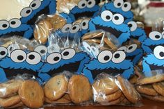 Party favor Cookie Monster Party