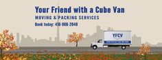 Your Friend with a Cube Van is a fully licensed and insured assembly, disassembly, packing, moving and delivery company. We help individuals and businesses move around the GTA at affordable prices since 2002.  🏢 Your Friend With a Cube Van 🚚 #Moving, 🎁#Packing, 🔧#Assembling and 💁 #Delivery #services 📌 381 Dundas St E, Toronto, ON M5A 2A6, (Dundas & Ontario) ☎️ 416.960.2048 - 💻 www.yfcv.ca - 💳 Debit, Credit or Cash