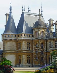 Waddesdon Manor, Buckinghamshire  This Renaissance-style château was built by Baron Ferdinand de Rothschild.