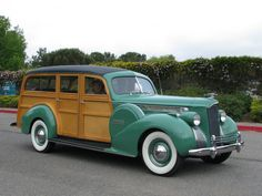 1940 Packard Woodie Station Wagon 2 | Flickr - Photo Sharing!....Re-pin brought to you by agents of #carinsurance at #houseofinsurance in Eugene, Oregon