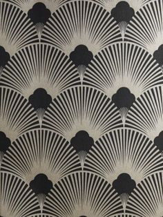 - topcat77:   Art Deco Metallic Wallpaper Pattern  ...