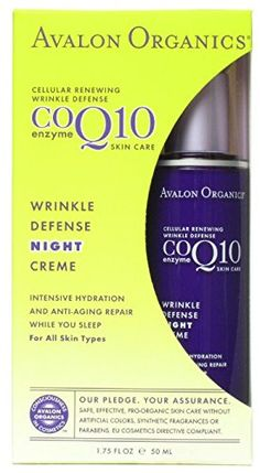 AVALON ACTIVE ORGANICS COQ10 WRINKLE DEF NT CRM 175 OZ -- You can find out more details at the link of the image.