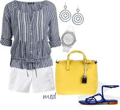 """""""Gingham"""" by michelled2711 ❤️ liked on Polyvore"""
