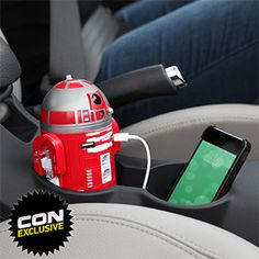 R2-D9 USB Car Charger by ThinkGeek  Love it! #swag #promoproducts #technology
