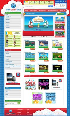 Math Game Time - Free Math Games, Videos and Worksheets