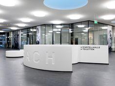 Ladenzentrum Leimbach Signaletik Web Design, Bathtub, Bathroom, Centre, Standing Bath, Washroom, Design Web, Bath Tub, Bathtubs