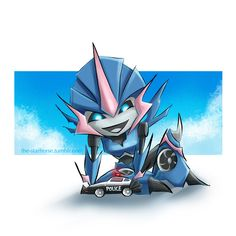 Arcee Chibi Commission by The-Starhorse.deviantart.com on @deviantART