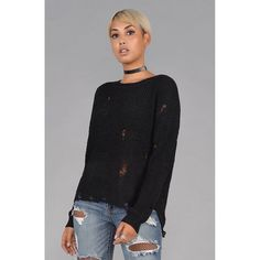Distressed Knit Sweater  #kimludcom #croptop #cutout #earrings #cosmetics #ruffle #handbags #watches #kimlud #oneshoulder #cutest #Selfies #kimludxme #love #highHeels #outfy @kimludofficial