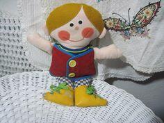 Drapper Dan Teaching Doll By Playskool  : by Daysgonebytreasures