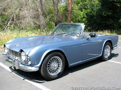 1964 Triumph TR 4 Restored by British Sports Cars