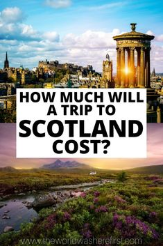 Is Scotland expensive? How much will a trip to Scotland cost? Read this Scotland travel budget to figure out your total Scotland trip cost! Scotland Vacation, Scotland Trip, Scotland Travel, Ireland Travel, Italy Travel, Croatia Travel, Thailand Travel, Bangkok Thailand, London England Travel