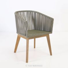 Teak Warehouse | Willow Dining Chair OUTDOOR