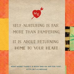 Love that Jen Louden is sharing her wisdom on Brene Brown's site today. YES!