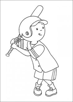 caillou coloring pages online picture 38 550x770 picture