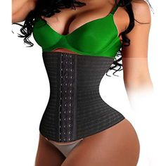 f7a35483adc Women Waist Trainer Corset Long Torso Body Control Shaper Tummy Slimmer  CIncher XL Black -- You can find out more details at the link of the image.