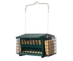 Mini Seeds N More Seed & Suet Bird Feeder Heritage Farms Free Shipping #HeritageFarms