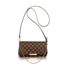 Favorite PM - Damier Ebene Canvas - Handbags | LOUIS VUITTON