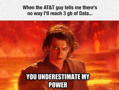 3 GB Of Data