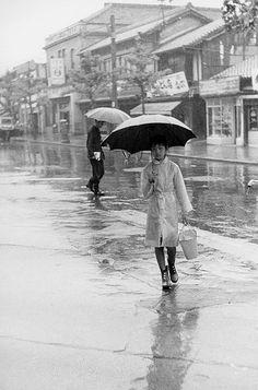 Rain - Vintage Japan. S)
