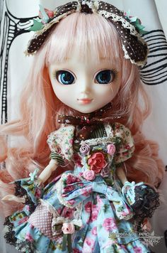 Dolls and dolls buscar con google dolls and sculpture for Alice du jardin pullip
