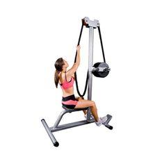 rope pull machine workout