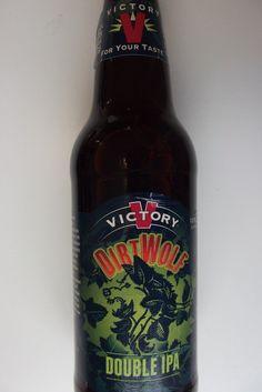 Cerveja Victory DirtWolf Double IPA, estilo Imperial / Double IPA, produzida por Victory Brewing Company, Estados Unidos. 8.7% ABV de álcool.
