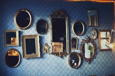 The Mirror Wall #decor #Mirrors #vintage #classy #reflection #beautiful #royal