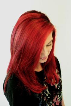 Elumen  #hair #redhair