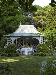 Backyard Pavilion, Pergola Garden, Backyard Gazebo, Pergola Kits, Outdoor Pavilion, Backyard Cottage, Garden Seating, Pergola Plans, Diy Pergola