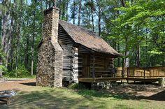 Elijah Clark State Park in Lincolnton, Georgia.