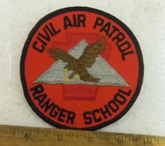Large Civil Air Patrol – Ranger School Embroidered Patch (NOS)