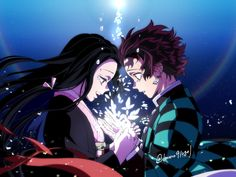 Read Kimetsu No Yaiba / Demon slayer full Manga chapters in English online! Manga Anime, Anime Demon, Otaku Anime, Manga Art, Anime Art, Anime Girl Cute, Anime Love, Anime Girls, Demon Slayer