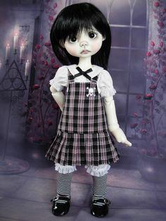 School of Goth fits Wendy Weird by Nikki Britt by weewardrobe