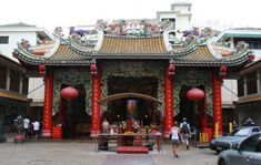 Chinatown Kuan Ying shrine Bangkok