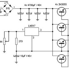 This 20 Amp Variable Power Supply varies its output