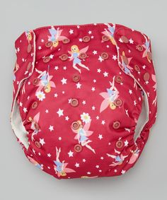 This Awesome Blossom Burgundy Fairy Pocket Diaper by Awesome Blossom is perfect! #zulilyfinds