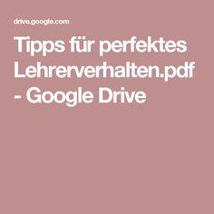 Tipps für perfektes Lehrerverhalten.pdf - Google Drive