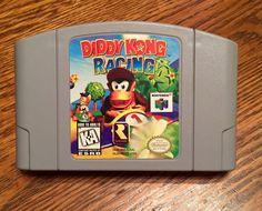 Diddy Kong Racing (Nintendo 64 N64) -Tested-  vintage 90's game